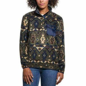Weatherproof Vintage Ladies Printed Fleece Pullove